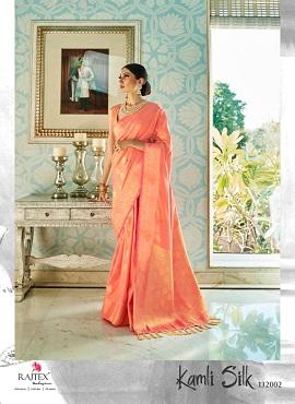 Rajtex Kamli Silk Festive Wear Silk Sarees Collection
