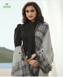 Sanskar Nayna 6 Running Wear Georgette Saree