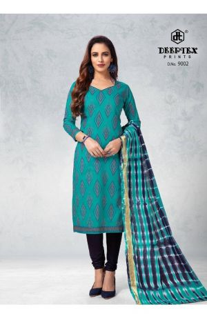 Deeptex Tradition 9 Soft Cotton Printed Dress Material