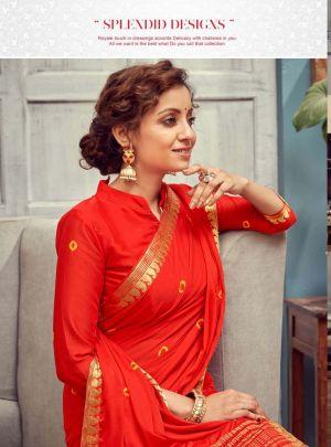 Rati Alisha Cotton Silk Festive Wear Saree Collection