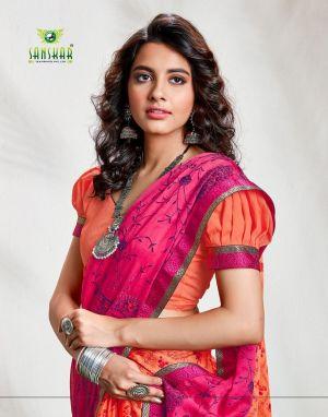 Sanskar Nyna 8 Fancy Chiffon Printed Saree Collection