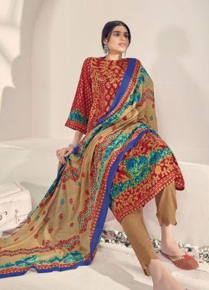 Suryajyoti Seerat 1 Cotton Printed Dress Material