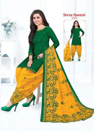 Shree Ganesh Pankhi 2 Pure Cotton Printed Dress Material