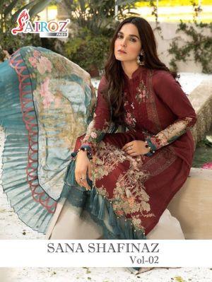 Sairoz Sana Safinaz 2 Premium Pakistani Collrction