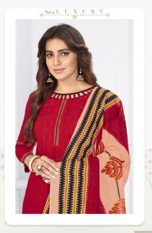 Mangal Shree Madhubala 12 Cotton Dress Material Collection