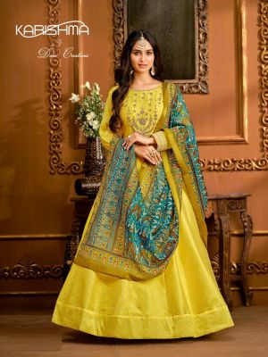 Karishma 1 Exclusive Fancy Ethnic Wear Designer Gown Collection