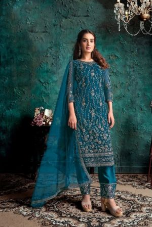 Hit 4634 Colors 2 Embroidery Salwar Kameez Collection