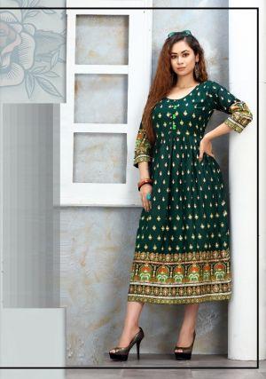 Trendy Nakshtra Ethnic Wear Anarkali Kurti Collection