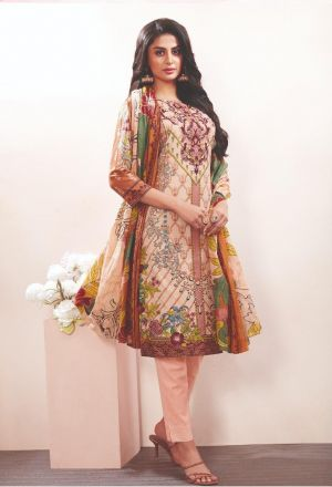 Aarvi Nur Lawn Collection 2 Regular Wear Ready Made Collection