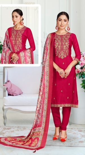 Manibhadr Kiara 1001 Series Festive Wear Dress Material