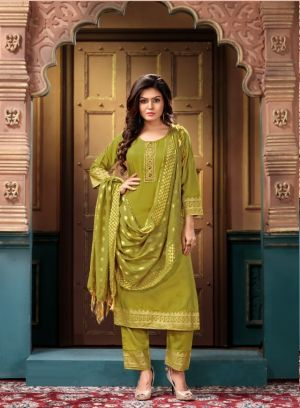 Pluto 5 Festive Wear Embroidery Sequence Ready Made Collection