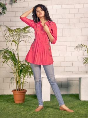 Tunic House Noor 4 Short Wear Ladies Top Collection