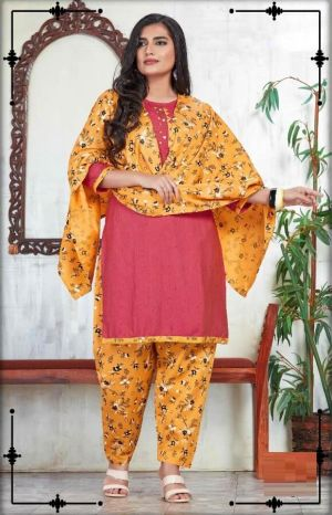 Mitva Fancy Wear Rayon Ready Made Collection