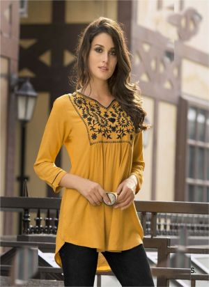 Suhani Classic Embroidery Work Ladies Top Collection