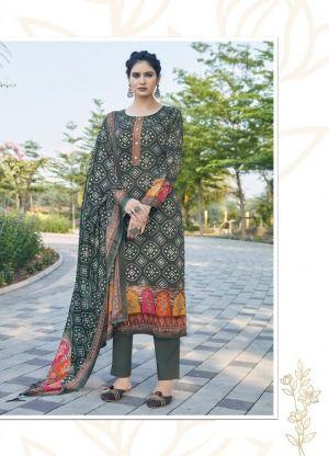 Rama Raazi Bandhej 3001 Designer Dress Material