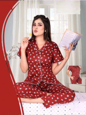 Saheli Sweety Premium Hosiyer Cotton Night Wear Collection