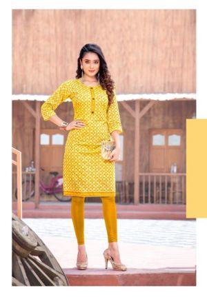 Panna 2 Casual Wear Printed Modal Silk Kurti Collection