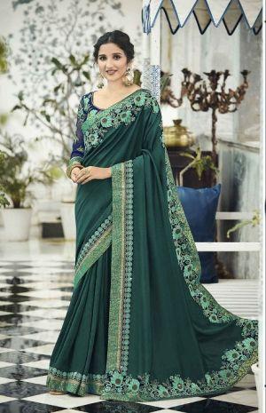 Kalista Glorious 9 Party Wear Designer Vichitra Silk Saree Collection