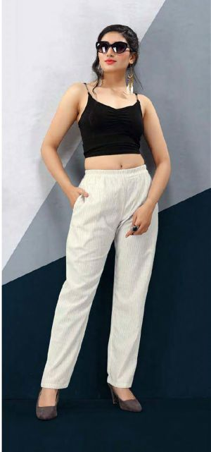 Tunic House N4u Nikhar Nx Linen Cotton Pant Collection