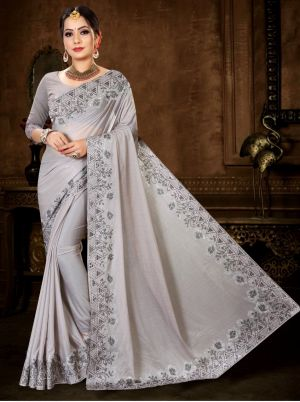 Ronisha Sandal Festive Wear Bollywood Saree Collection