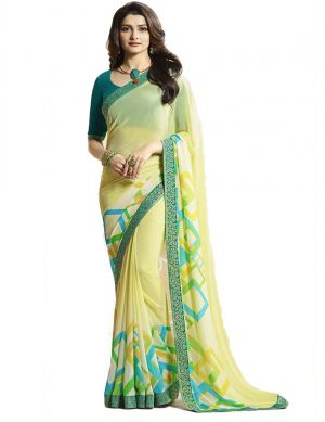 Suhani A16 Georgette Wear Printed Saree Collection