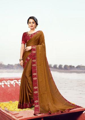 Ronisha Shivaay Traditional Wear Designer Saree Collection