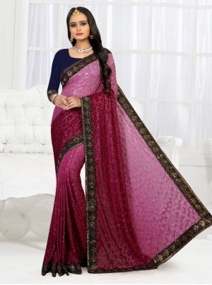 Ronisha Toronto Siroski Fancy Wear Saree Collection