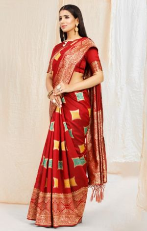 Ynf Massakali Occasion Wear Art Silk Saree Collection