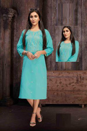 Kanasu Colours 2 Rayon Casual Wear Kurti Collection