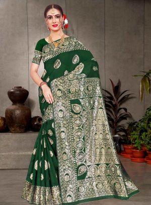 Ronisha Voice Formal Wear Cotton Silk Saree Collection