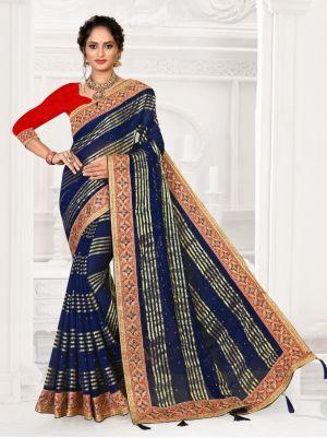 Ronisha Tanchui Viscose Designer Saree Collection