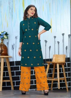 Beauty Queen Kiara Ethnic Wear Kurti With Bottom Collection