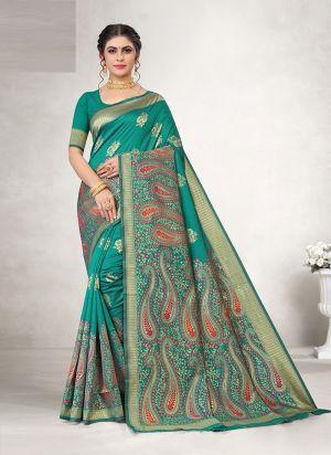 Lakshya Vidya 13 Festive Wear Jacquard Silk Saree Collection
