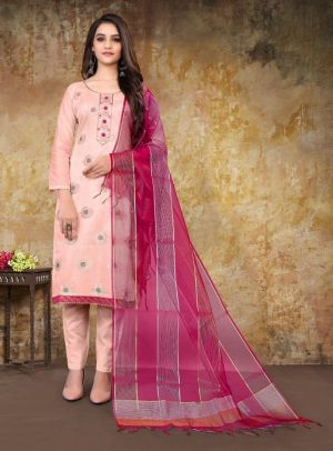 Dulhan Party Wear Designer Hand Worked Dress Material