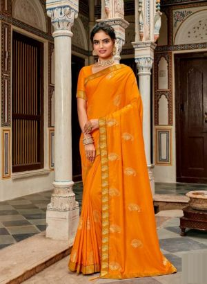 Kalista Super Hit Party Wear Embroidery Work Saree Collection