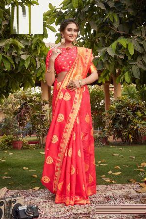 Apple Mangalgiri 2 Fancy Wear Cotton Silk Saree Collection