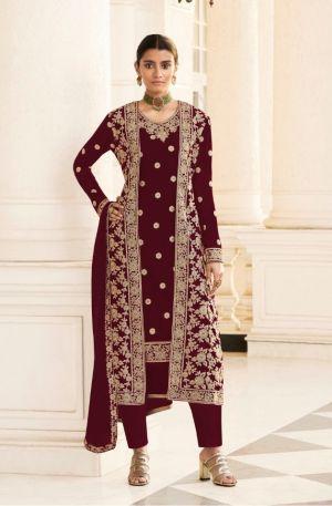 Jacket 8413 Georgette Wear Designer Salwar Kameez