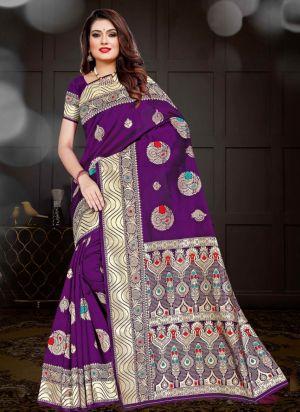 Ronisha Millano Casual Wear Silk Saree Collection