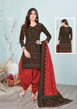 Lakhani Bandhani Special 2 Ready Made Regular Wear Dress