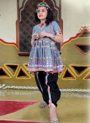Thangat Exclusive Kids Wear Navaratri Dhoti Kediya Collection