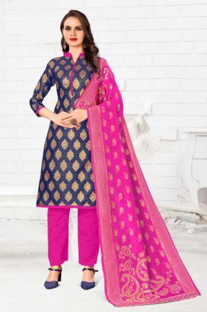 Banarashi 1011 And 1018 Designer Dress Material