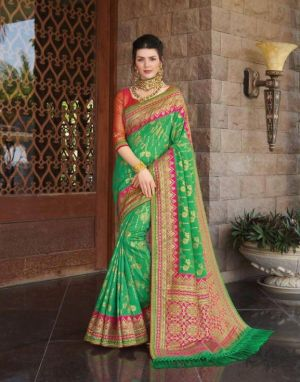 Joh Rivaah Jewel 5901 Festive Wear Silk Saree Collection