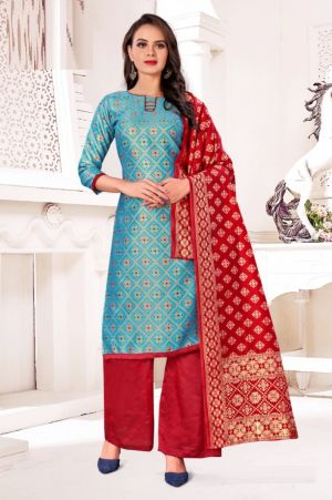 Banarashi 1019 And 1024 Designer Dress Material