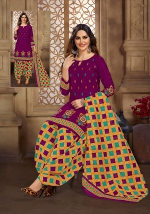 Sc Payal 3Rd Edition Regular Wear Cotton Drees Material