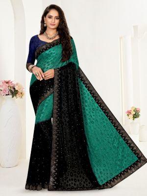 Ronisha Shooting Traditional Wear Designer Saree Collection