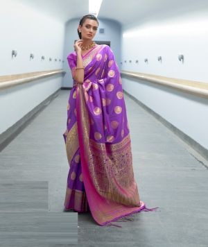 Rajtex Korani Party Wear Handloom Silk Saree Collection