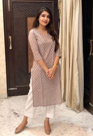 Rosey 4 Party Wear Kurti With Bottom Collection