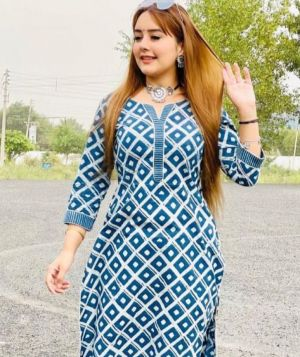 Rosey 7 Festive Wear Cotton Kurti With Bottom Collection