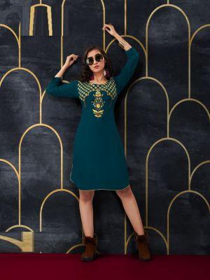 Tunic House Nayyab Ethnic Wear Designer Kurti Collection