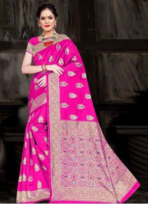 Ronisha Tricky Casual Wear Silk Saree Collection